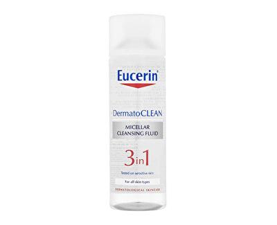 Čisticí micelární voda 3v1 DermatoCLEAN (Micellar Cleansing Fluid) 400 ml