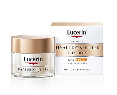 Denní krém proti vráskám SPF 30 Hyaluron-Filler+Elasticity 50 ml