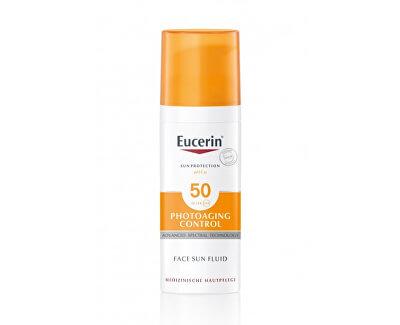 Emulze na opalování proti vráskám Photoaging Control SPF 50 (Face Sun Fluid) 50 ml
