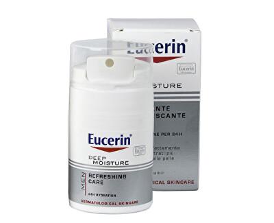 Eucerin Hloubkově hydratační krém pro muže Silver Shave (Deep Moisture) 50 ml