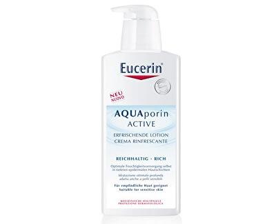 Hydratační tělové mléko pro suchou pokožku AQUAporin Active 400 ml