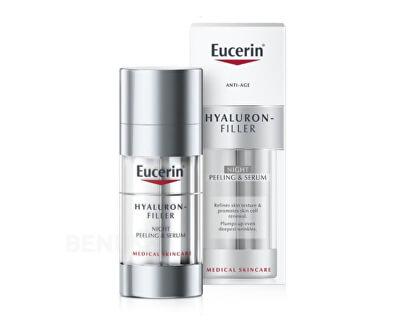 Noční obnovující a vyplňující sérumHyaluron Filler (Night Peeling & Serum) 30 ml