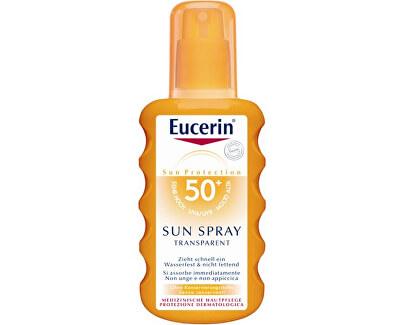 Eucerin Transparentní sprej na opalování SPF 50 (Sun Clear Spray) 200 ml