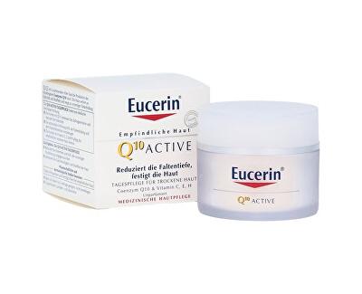 Vyhlazující denní krém proti vráskám pro všechny typy citlivé pleti Q10 Active 50 ml