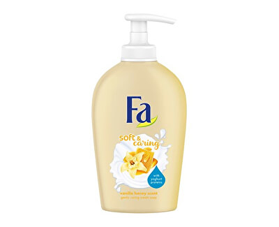 Săpun lichid Soft & Caring Vanilla Honey Scent (Gently Caring Cream Soap) 250 ml