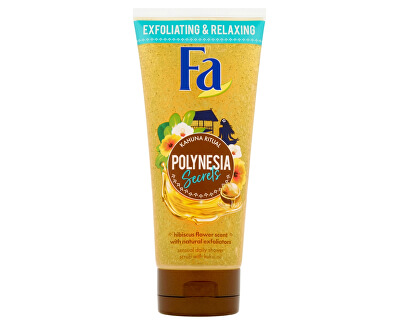Tělový peeling Kahuna Ritual Polynesia Secrets (Shower Scrub) 200 ml