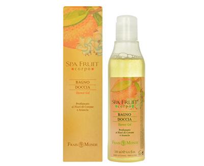 Frais Monde Sprchový gel Bavlník a pomeranč (Spa Fruit Shower Gel Cotton Flower And Orange) 200 ml