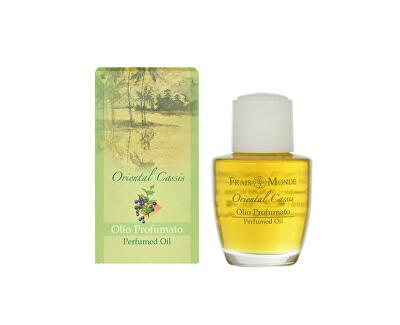 Frais Monde Parfémovaný olej Orientální černý rybíz (Oriental Cassis Perfumed Oil) 12 ml