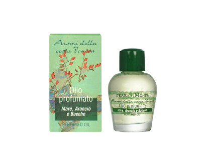 Frais Monde Parfémovaný olej Moře, pomeranč a bobule (Seaspray Orange And Beries Perfumed Oil) 12 ml