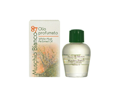 Parfémovaný olej Bílý mošus (White Musk Perfumed Oil) 12 ml