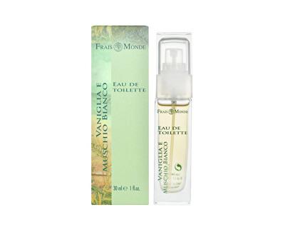 Frais Monde Toaletní voda Vanilka a bílý mošus (Vanilla And White Musk) 30 ml