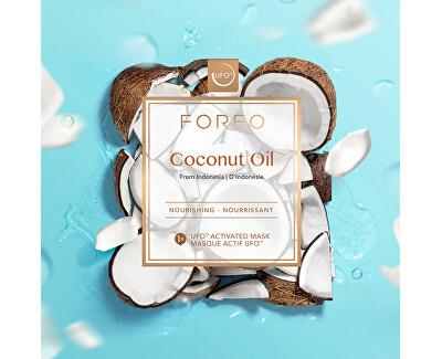 Vyživující pleťová maska Coconut Oil (Nourishing Mask) 6 x 6 g