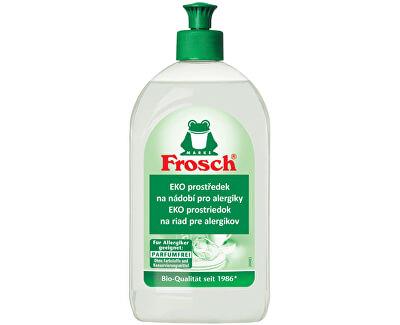 Frosch EKO Prostriedok na riad pre alergikov 500 ml