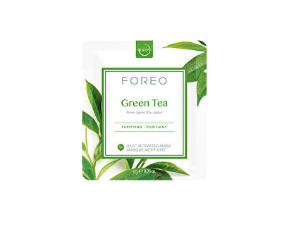 Osvěžující a zklidňující pleťová maska Green Tea (Purifying Mask) 6 x 6 g