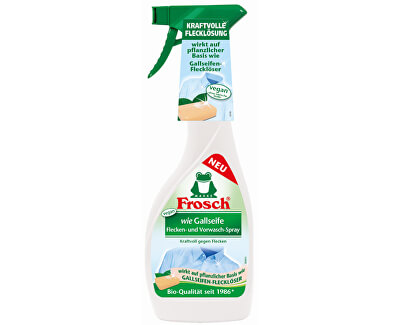 Frosch Sprej na škvrny s efektom žlčového mydla 500 ml