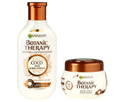 Kosmetická sada pro suché a hrubé vlasy Botanic Therapy Coco Milk & Macadamia