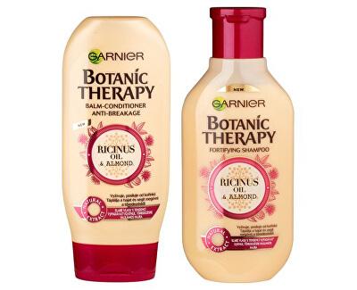 Kosmetická sada pro slabé a vypadávající vlasy Botanic Therapy Ricinus Oil & Almond