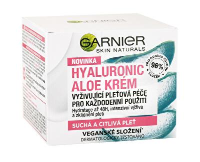 Vyživující krém pro suchou a citlivou pleť Hyaluronic Aloe Cream 50 ml