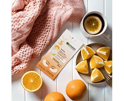 Povzbudzujúca očná maska so šťavou z pomaranča a kyselinou hyaluronovou (Eye Tissue Mask) 6 g