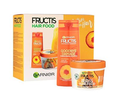 Kosmetická sada pro poškozené vlasy Fructis Hair Food