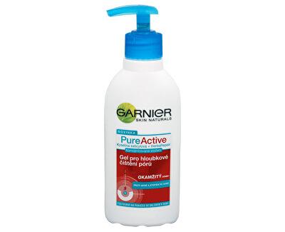 Garnier PureActive gel pro hloubkové čištění pórů 200 ml