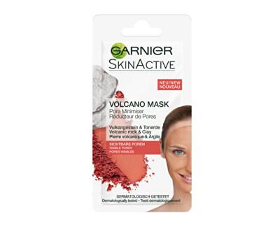 Hrejivá čistiaca maska so sopečnými minerály a ílom na mastnú pleť s pórmi Skin Active (Volcano Mask) 8 ml