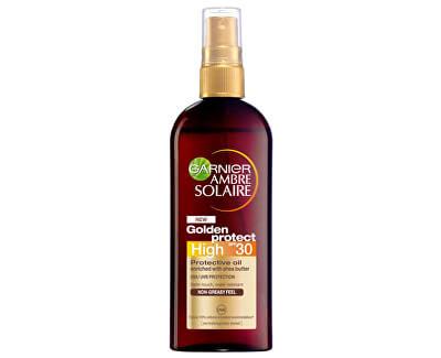 Olej na opalování High SPF 30 (Golden Protect) Ambre Solaire 150 ml