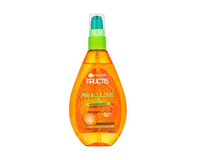 Olej pro tepelnou úpravu vlasů Fructis (Miraculous Oil Brushing Express) 150 ml