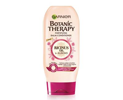 Garnier Posilující balzám s ricinovým a mandlovým olejem pro slabé a lámající se vlasy Botanic Therapy (Fortifying Balm -Conditioner) 200 ml