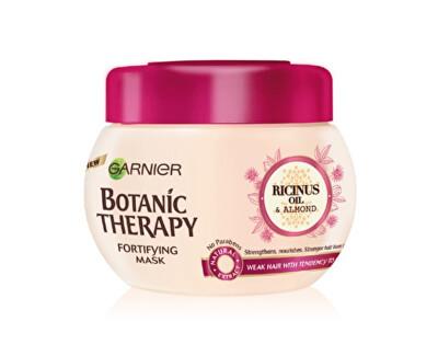 Garnier Posilující maska s ricinovým a mandlovým olejem pro slabé a lámající se vlasy Botanic Therapy (Fortifying Mask) 300 ml