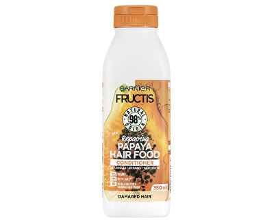 Regenerating balsam pentru păr deteriorat FructisHair Food ({{PapayaRepairing Conditioner 350 ml
