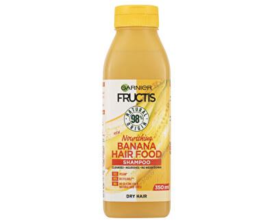Pflegendes Shampoo für trockenes Haar Fructis Hair Food (Banana Nourishing Shampoo) 350 ml