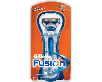 Gillette Holicí strojek Gillette Fusion + náhradní hlavice 2 ks