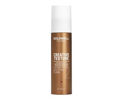 Gelový vosk pro vysoký lesk vlasů Stylesign (Creative Texture Crystal Turn 2) 100 ml