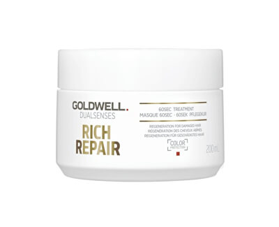 Maska pro suché a poškozené vlasy Dualsenses Rich Repair (60Sec Treatment) - SLEVA - ulomené víčko
