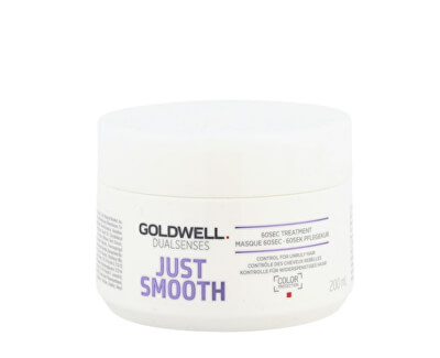 Goldwell Uhlazující maska na nepoddajné vlasy Dualsenses Just Smooth (60 SEC Treatment Mask) 200 ml
