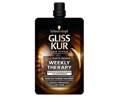 Týdenní kúra na suché a poškozené vlasy Ultimate Repair (Rinse-out Intense Treatment) 50 ml