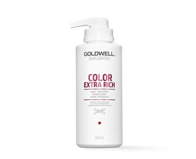 Vyživující maska pro barvené i přírodní vlasy Dualsenses Color (60 SEC Treatment) 500 ml