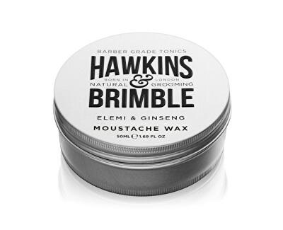 Stylingový vosk na vousy s vůni elemi a ženšenu (Elemi & Ginseng Moustache Wax) 50 ml