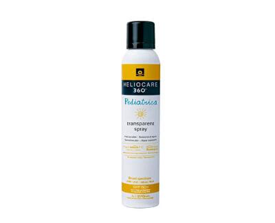 Transparentní sprej na opalování pro děti 360° SPF 50+ (Pediatrics Transparent Spray) 200 ml