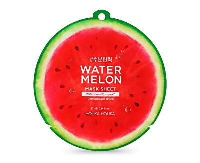 Plátýnková maska s hydratačním a zklidňujícím účinkem Water Melon (Mask Sheet) 25 ml