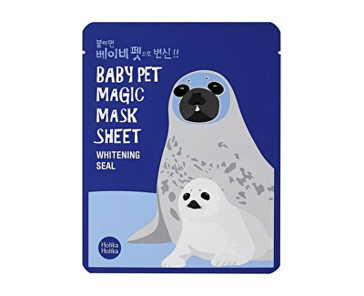 Rozjasňující plátýnková maska Baby Pet Magic Whitening Seal (Mask Sheet) 22 ml