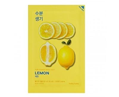Tonizující plátýnková maska Lemon (Pure Essence Mask Sheet) 20 ml