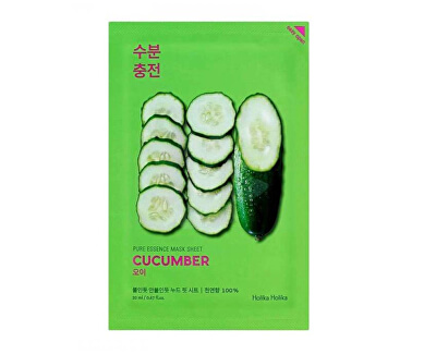 Zklidňující plátýnková maska Cucumber (Pure Essence Mask Sheet) 23 ml