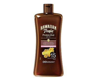 Ulei spray pentru bronzare SPF 15 Hawaiian Tropic (Hawaiian Tropic Protective Dry Oil) 100 ml