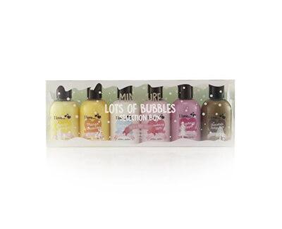 I Love Dárková sada sprchových a koupelových krémů Lots Of Bubbles 6 x 100 ml