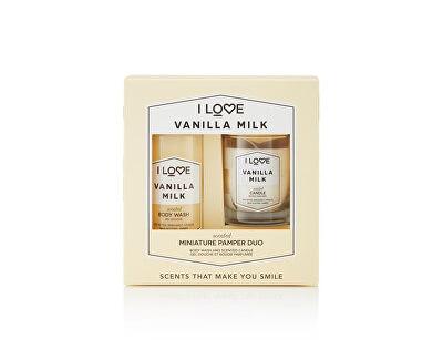 Darčeková sada Vanilla Milk ( Body Wash & Candle)
