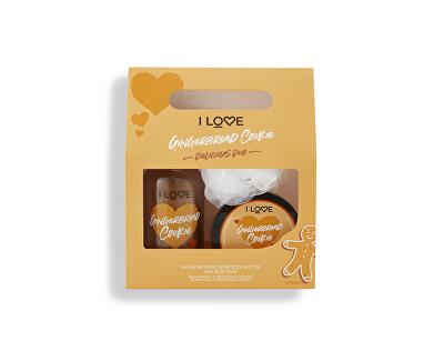 Kosmetická sada s vůní perníčků Gingerbread Cookie Delicious Duo - SLEVA - poškozená krabička