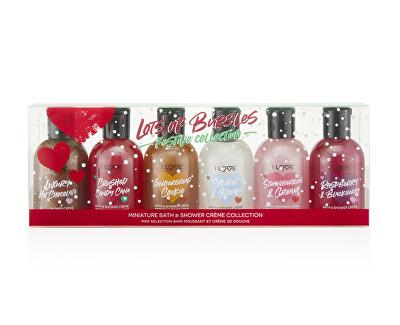 Kosmetická sada tělové péče Lots of Bubbles Festive Collection 6 x 100 ml - SLEVA - poškozená krabička
