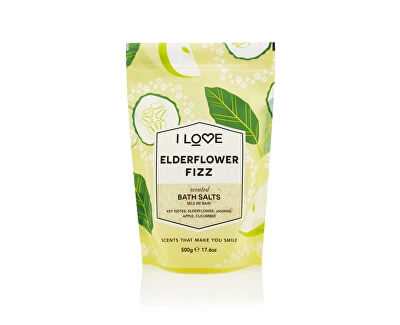 Koupelová sůl Elderflower Fizz (Bath Salts) 500 g